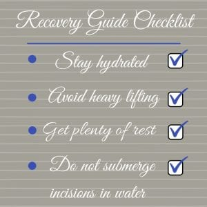 Recovery Guide Checklist